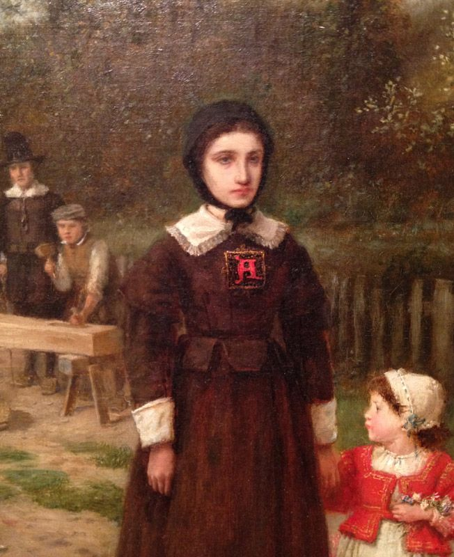 Roger Chillingworth Quotes: Hester Prynne Holding Pearl's Hand