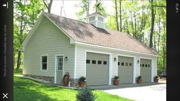 17 best images about new garage project on pinterest for 4 bay garage plans