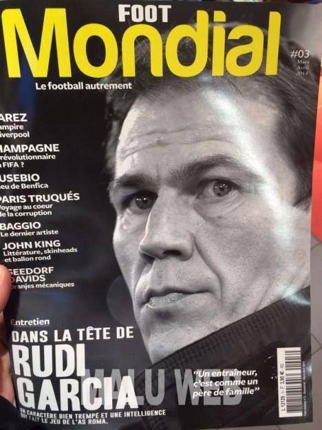 'Inside Rudi #Garcia's head' #ASRoma coach interview