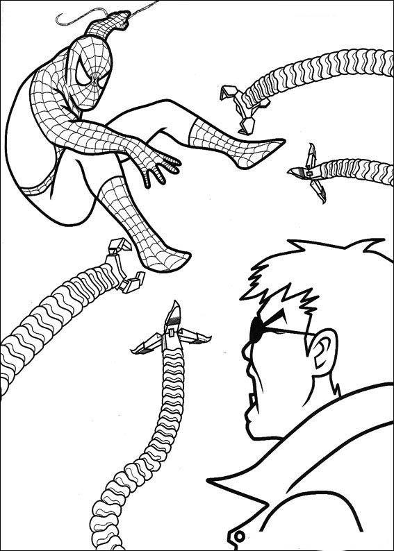 spiderman 60 ausmalbilder für kinder malvorlagen zum