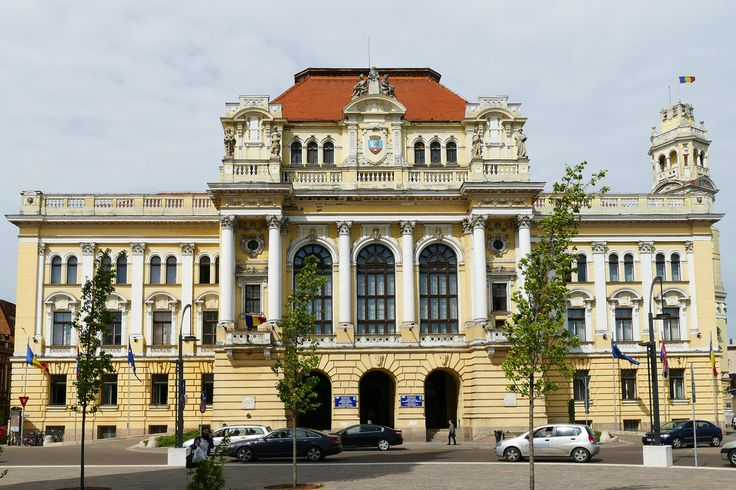 The City Hall was built between 1902-1903 in place of the old building of the roman-catholic bishop after the plans and under the direct guidance of Rimanoczy Kalman. On the right side there is the clock-tower high of 50 m. The mechanism of the clock, 100 years old, still functions