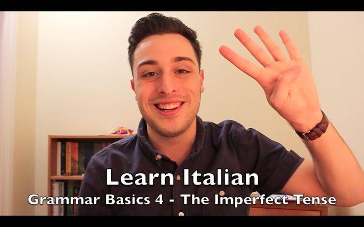 Learn Italian - Grammar Basics 4   The Imperfect Tense (+playlista)