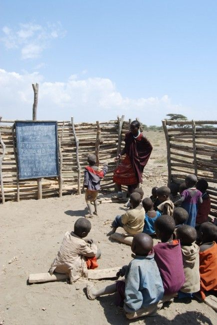 Masaai school, Tanzania - In April I will be heading here to teach for a week :)