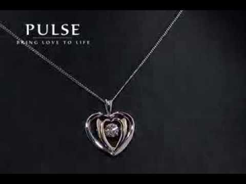 Pulse Two Toned Heart Pendant -  PP3117WG