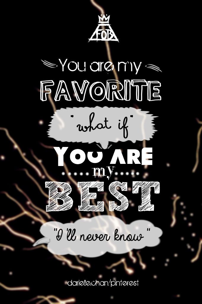 Fourth of July by Fall Out Boy  this is one of my favorite line. hope you like my edit  (c)dariellechan