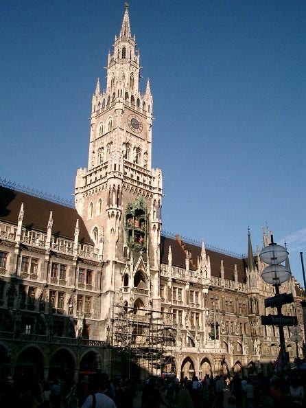 マリエン広場 新市庁舎 ミュンヘン 旅行・観光の見所を集めました。