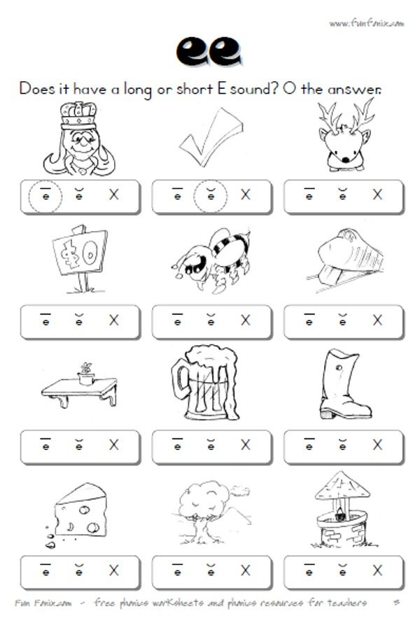 110 Best Phonics Worksheets Images On Pinterest | Phonics