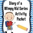 This all-encompassing 24 page literacy activity packet can be used with any of The Diary of a Wimpy Kid Series books. The printable packet includes...