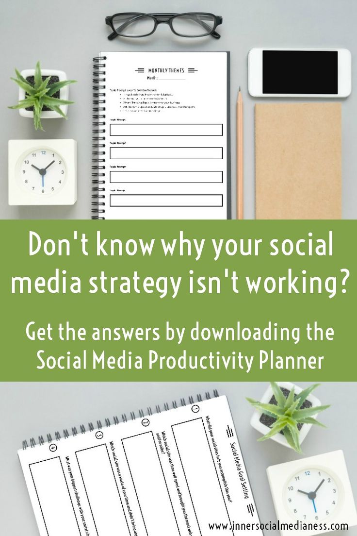 Tired of aimlessly posting wherever and everywhere and getting nowhere? And you're so done with the weekly struggle of what to post or what site to use? Grab your copy of the Social Media Productivity Planner as your guide to getting yourself out there and creating the business that you've always wanted.  This is your year to reach your social media goals and connect to more customers on social media :)