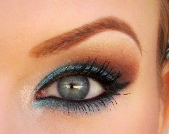 Love this look: Makeup Geek, Eye Makeup, Eye Shadows, Blue Brown, Brown Eye, Hair Makeup, Warm Brown, Blue Eye, Eyemakeup