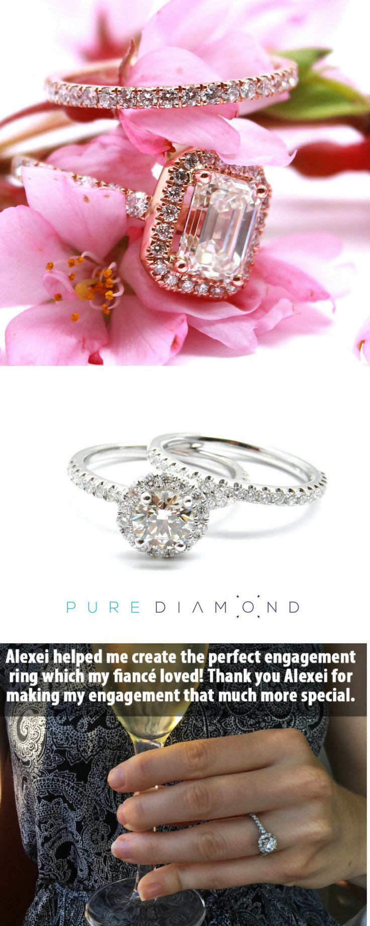 112 best Engagement Rings images on Pinterest | Diamond engagement ...