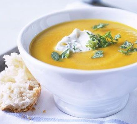 A basic soup recipe that can be adapted to whatever needs using up from the fridge