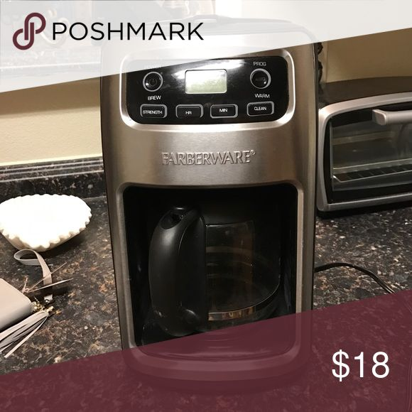 Coffee maker Used, 12 cup coffee maker Farberware Other