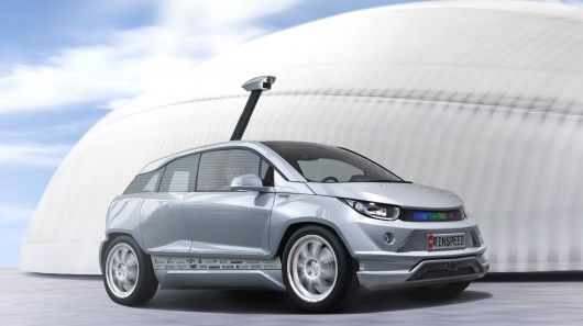 The Rinspeed autonomous vehicle concept, dubbed Budii, has been created as a platform to showcase the latest in self-driving vehicle technology. Built on a revamped BMW i3 chassis, Budii will be unveiled at the 2015 Geneva Motor Show. [Self-Driving Cars: http://futuristicnews.com/tag/self-driving/]