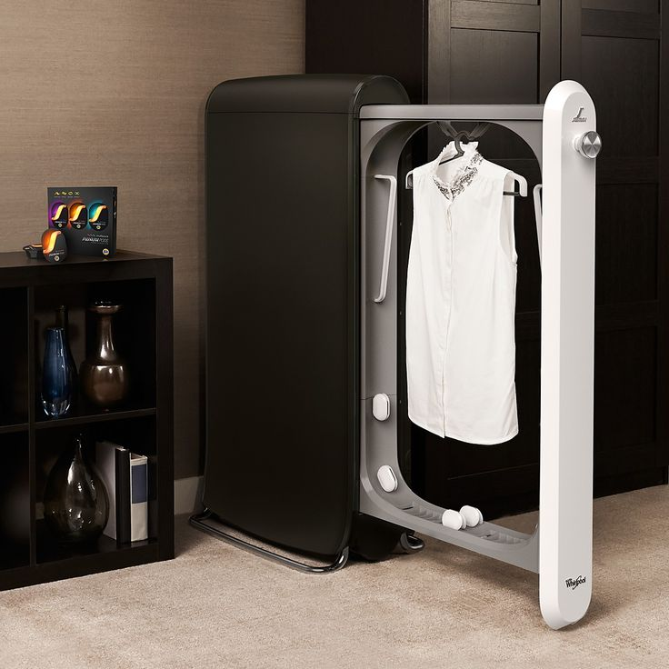 When we have space! SWASH™ Express Clothing Care System PRICE: $499.99 (http://www.techlicious.com/blog/clean-your-clothes-in-10-minutes/)