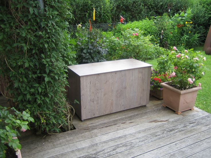 die besten 25 auflagenbox ideen auf pinterest garten auflagenbox auflagenbox holz und woll t pfe. Black Bedroom Furniture Sets. Home Design Ideas