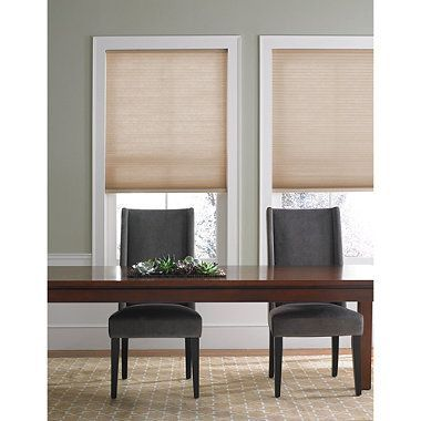 The lightweight yet semi-opaque fabric of this cellular shade softly filters light while also providing some privacy. This shade is also cordless, making it safe for children.: Cellular Shades, Cordless Cellular, Bedbathandbeyond Com, Simple Cordless, Window Treatments, Products, Real Simple