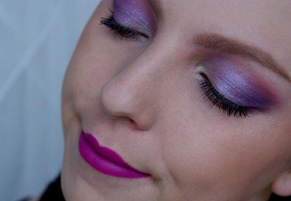 Dnešní Makeup: Purple Jackpot