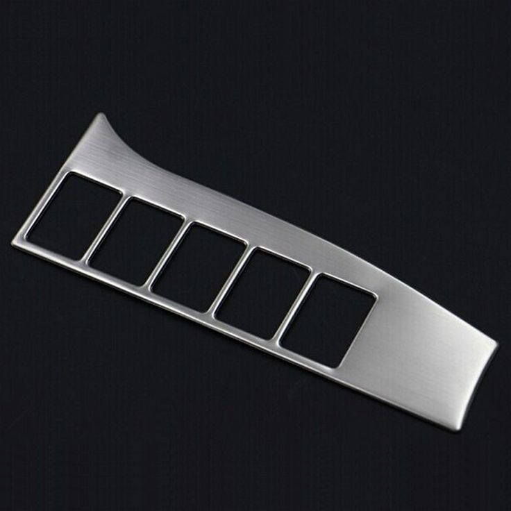 For Mitsubishi Outlander 2013 2014 Adjusting Button Decorative Panel Plate Stainless Steel Auto Accessories