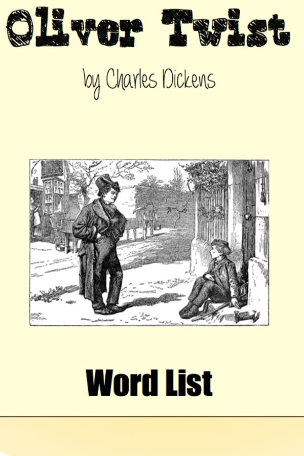 Word List - #tpt #charles #dickens #vocabulary