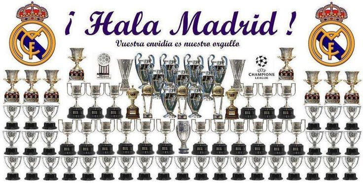 palmares real madrid a 2012..