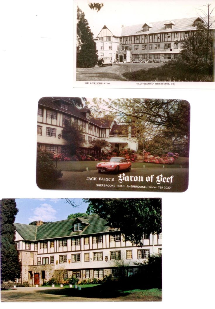 Historical Marybrooke Manor in the Dandenong Ranges. Circa 1940 built three story guest house with wedding reception dining room and 20 guest rooms.