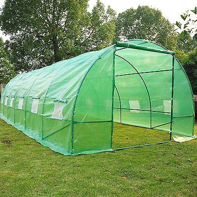 Outdoor 26'x10'x7' Large Walk in Portable Greenhouse Gardening Plant Hot House | eBay