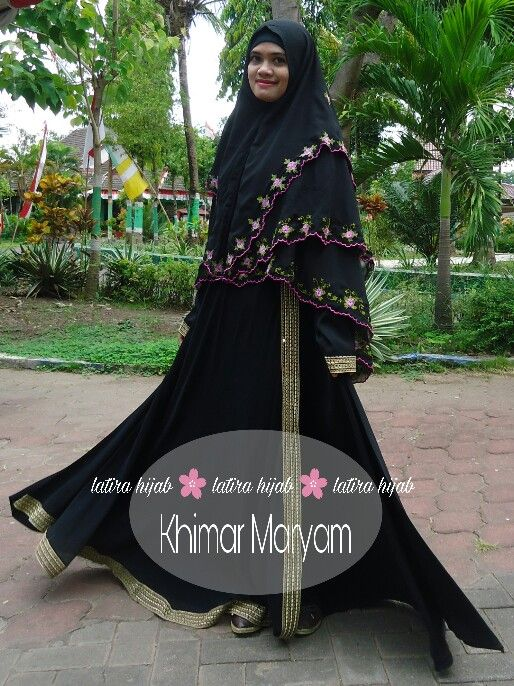 Khimar Maryam. Khimar bordir di Indonesia. Khimar cantik Indonesia. Hp +6282234612290.