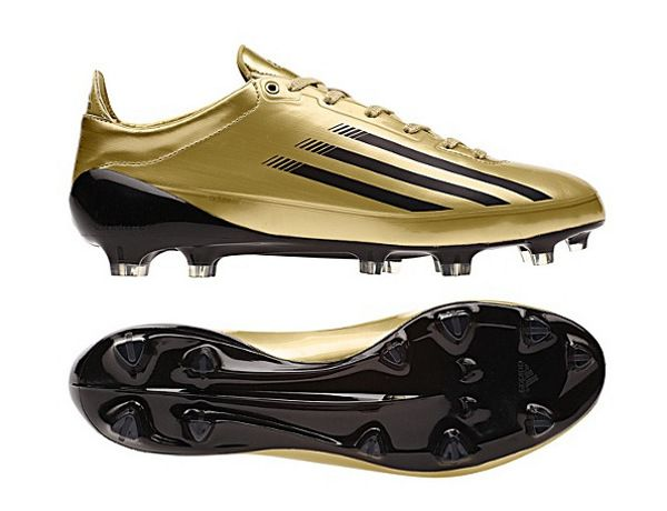 Adi-Zero 5 Star Golds , I want these so BAD !! Adidas CleatsSoccer ...