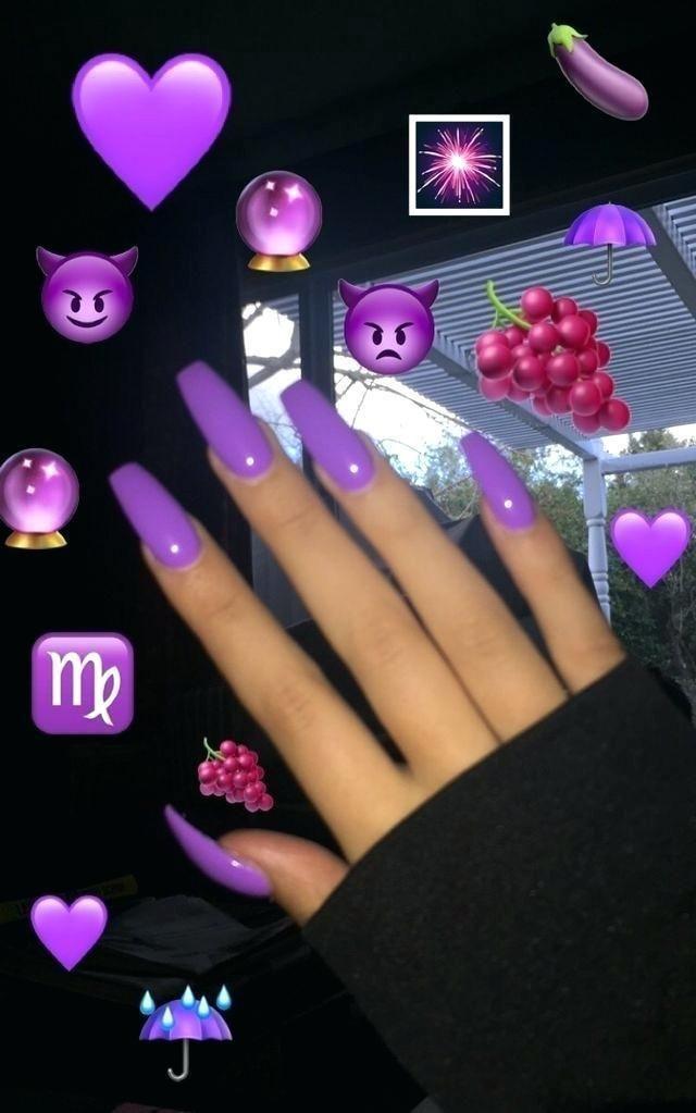 Light Purple Acrylic Nails Best Nail Art Designs Ideas Coffin Purple Acrylic Nails Purple Nails Cute Acrylic Nails