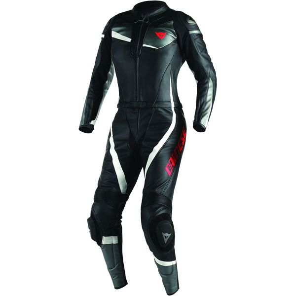 Sportbike Track Gear - Dainese Women's Veloster Two Piece Leather Race Suit, $999.95 (http://www.sportbiketrackgear.com/dainese-womens-veloster-two-piece-leather-race-suit/)