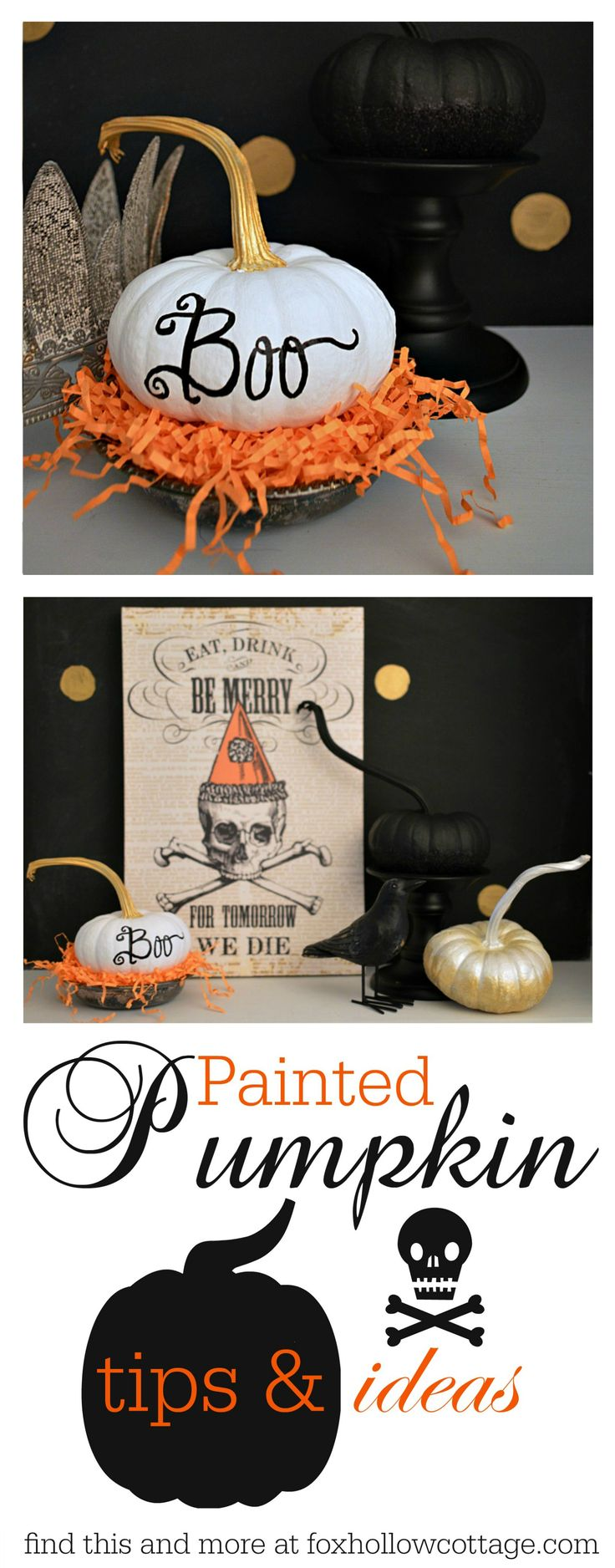 25 best ideas about painted pumpkins on pinterest for Make your own halloween decorations