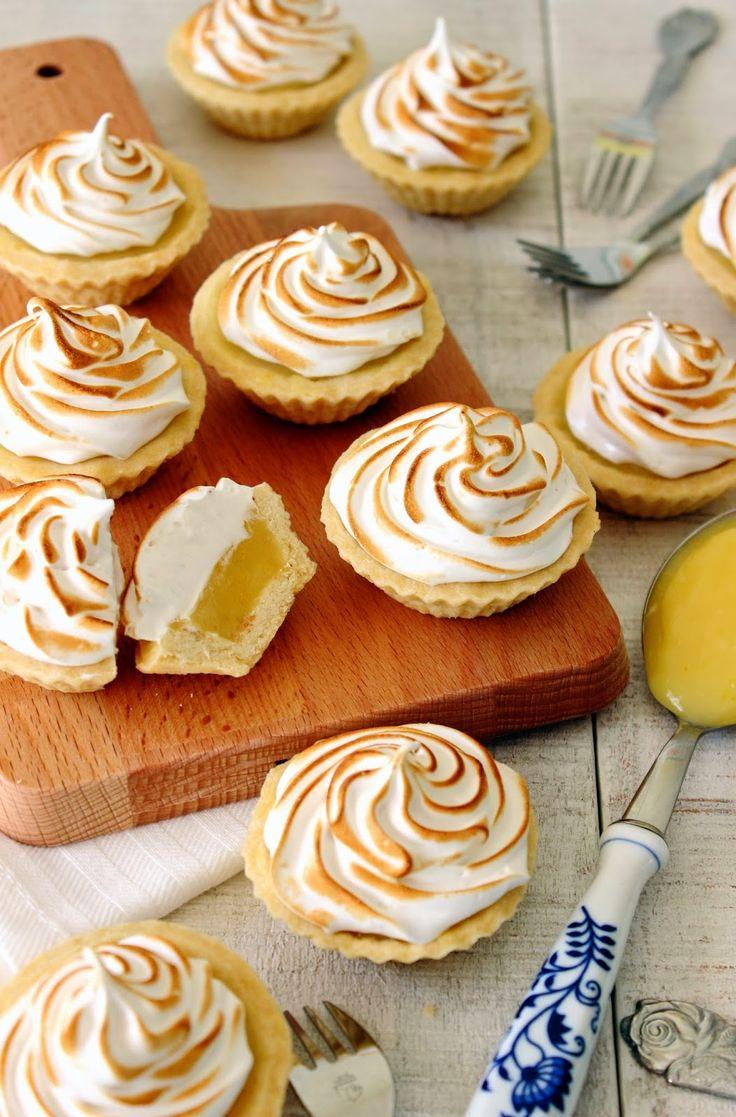 Mini citroen meringue taartjes