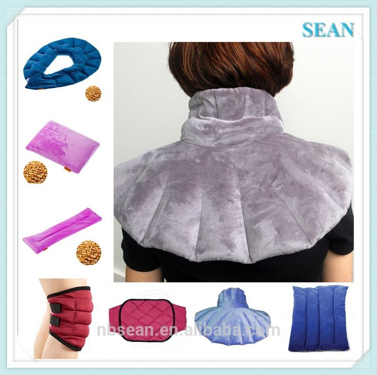 Best seeds filled Hot/Cold microwaveable neck heating pad microwave