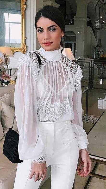 Top bra branco white #blogger Camila Coelho