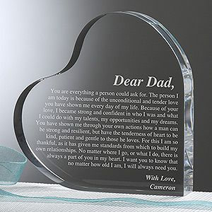 Give that special man in your life a gift they can cherish forever with the A Letter To Dad Personalized Keepsake. Find the best personalized mens' gifts at PersonalizationMall.com
