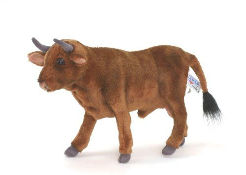 Hansa Brown Bull 30cml Hansa Toy http://www.amazon.co.uk/dp/B004CRNCAW/ref=cm_sw_r_pi_dp_TwLTwb0T12TCG