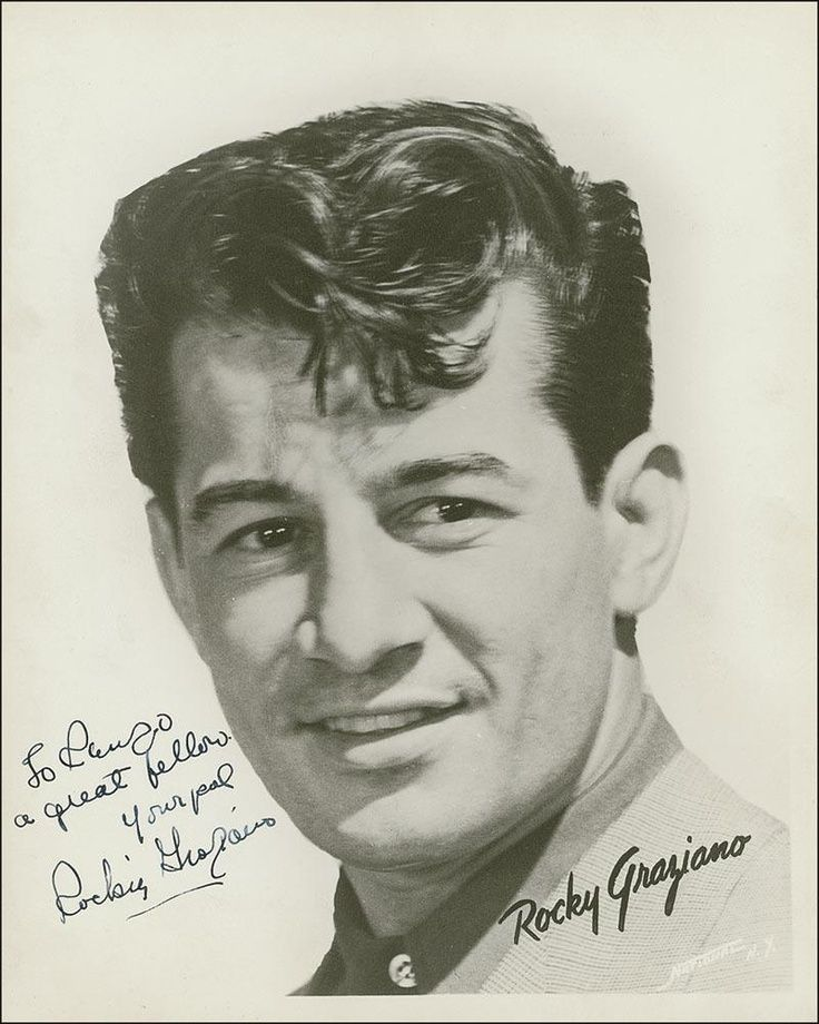 Rocky Graziano, 1919 - 1990. 71; professional boxer.  Autobiography Somebody Likes Me Down Here Too. 1981.