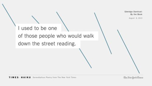 this is true, I would walk to school every day while reading a book.
