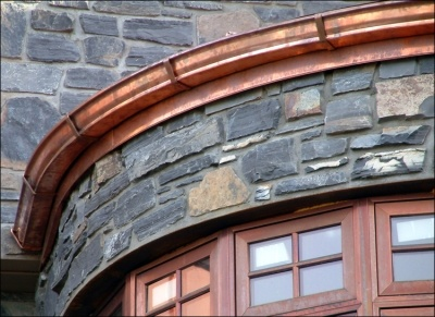 17 Best Images About Copper Gutters Roof And More On