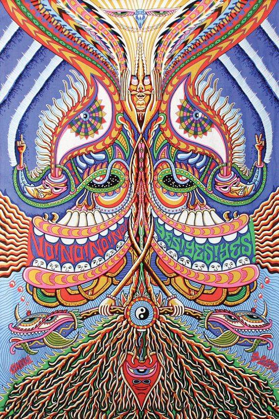 The best psychedelic collection by Sasha Ku on Etsy