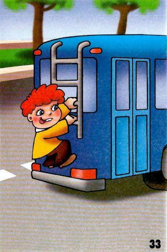 viesť sa prichytený na autobuse