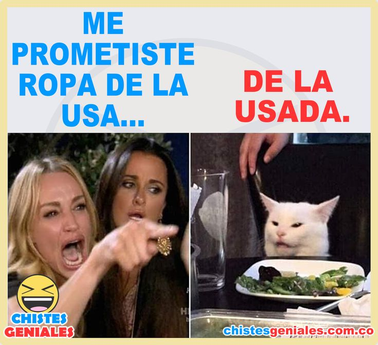 Me prometiste ropa de la USA…