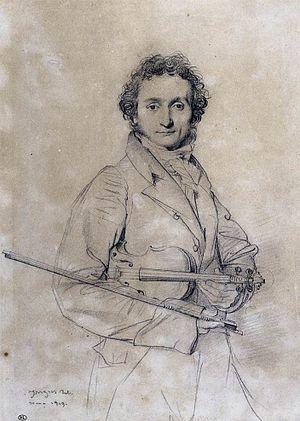 Niccolò Paganini Bocciardo (Génova, 27 de octubre de 1782 – Niza, 27 de mayo de 1840) fue un violinista, violista, guitarrista y compositor italiano, considerado entre los más virtuosos músicos de su tiempo, reconocido como uno de los mejores violinistas que hayan existido, con oído absoluto y entonación perfecta, técnicas de arco expresivas y nuevos usos de técnicas de staccato y pizzicato