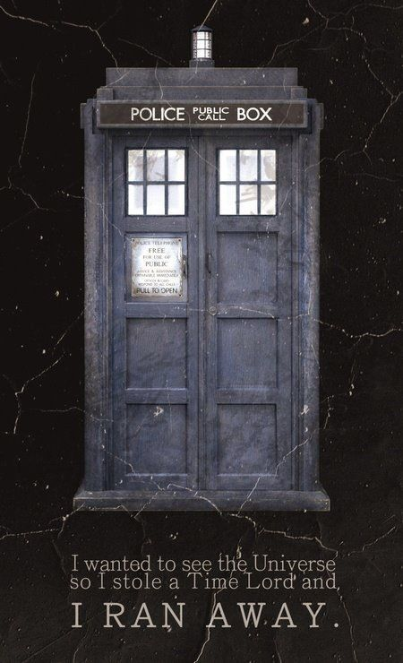 majestic dr who tardis door decal. Doctor Who  TARDIS I wanted to see the universe so stole a time lord and ran away who 1242 best Tardis images on Pinterest The doctor Illustrations