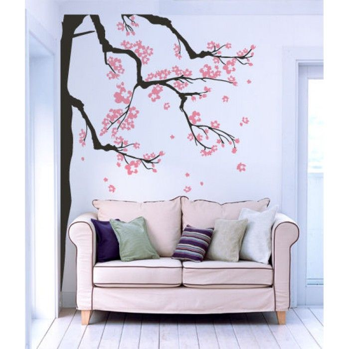 Rami in fiore, 39,90 euro http://www.adesivimurali.com/stickers-alberi/00859-rami-in-fiore
