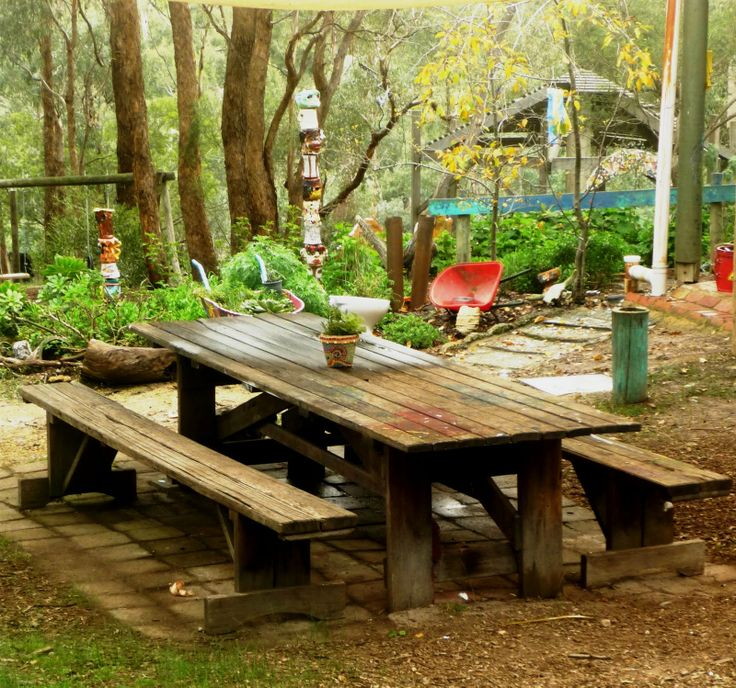 farmhouse picnic table, i want to make something like this for the backyard