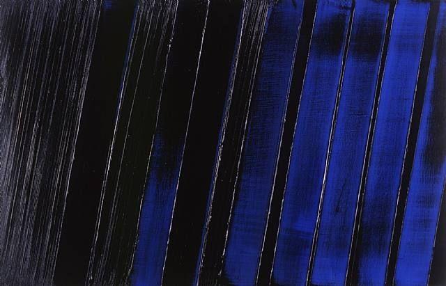 Pierre Soulages (b. 1919) Peinture 11 Juillet 1987