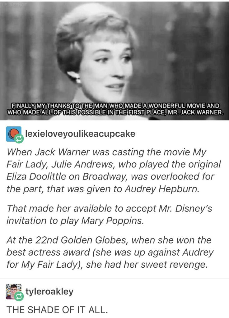 JULIE ANDREWS IS A GODESS