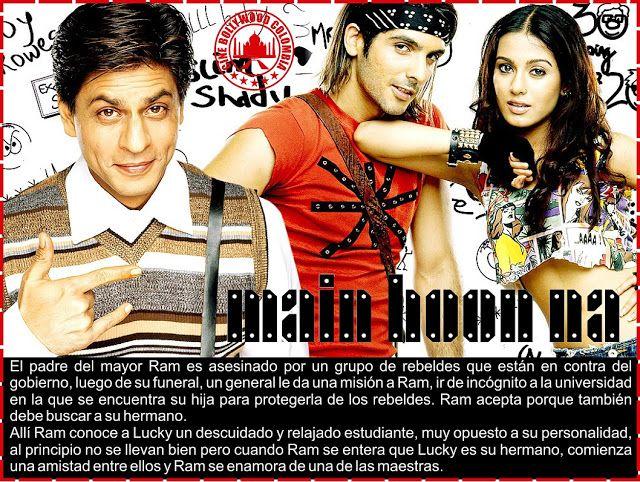 Cine Bollywood Colombia: MAIN HOON NA